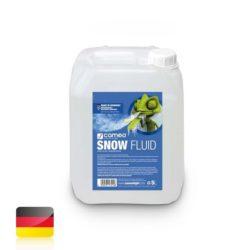 Cameo SNOW FLUID 5 L Specjalistyczny płyn do wytwornic śniegu do wytwarzania piany, 5 l. Sklep Relax.