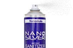 Nano Silver aerosol Sanitizer. Do dezynfekcji powierzchni. Nanosrebro, srebro koloidalne.