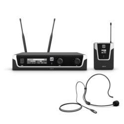 LD Systems U506 BPH Bezprzewodowy system mikrofonowy z nadajnikiem Bodypack i zestawem nagłownym