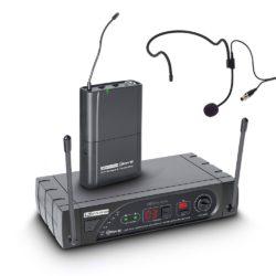 LD Systems ECO 16 BPH Bezprzewodowy system mikrofonowy z nadajnikiem Beltpack i zestawem nagłownym, 16-kanałowy