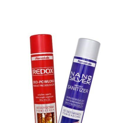Nano Silver Aerosol Sanitizer 500 ml + Redox 750 ml PROMOCJA