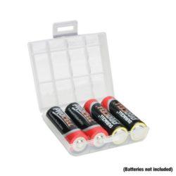 Adam Hall Accessories BATTERYBOX SMALL. Pojemnik na maksymalnie 4 baterie. Pojemnik do przechowywania baterii.