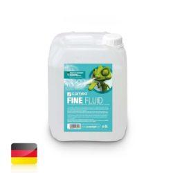 Cameo FINE FLUID 5 L Płyn do wytwarzania mgły o niewielkiej gęstości i bardzo długim okresie trwałości, 5 l
