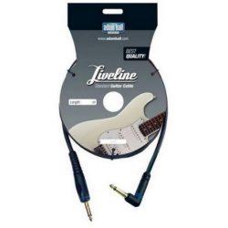 Profesjonalny kabel gitarowy, 3 metry.