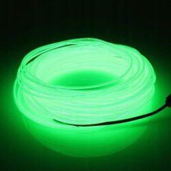 Neon giętki zielony.