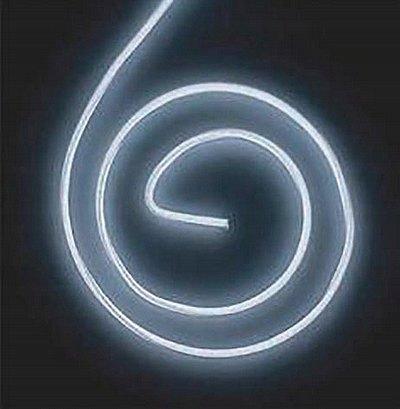LyTec – neon giętki, kabel świecący, przewód elektroluminescencyjny, 4,5 mm, podwójny biały