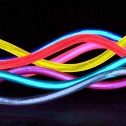 Neon giętki czerwony, LyTec