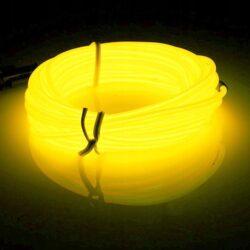 Neon giętki cytrynowy.