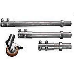NIVTEC – Przedłużacz do rolek transportowych Ø 16 cm, stal ocynkowana