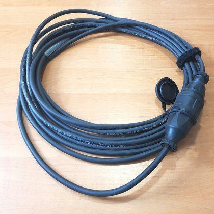 Przedłużacz Titanex / 1 wtyk 1 GNIAZDO PCE 750 V 10m