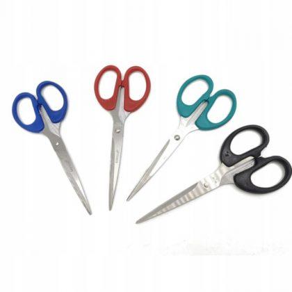 Nożyczki biurowe do szkoły, średnie 15,5 cm