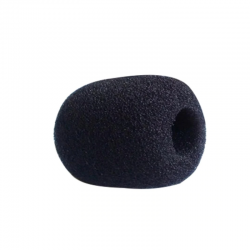 Mała gąbka mikrofonowa czarna.