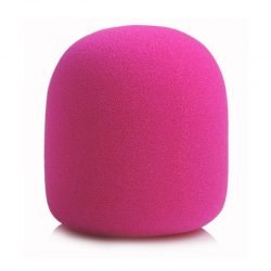 Różowa owiewka mikrofonowa